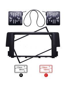 Dashboard Stereo Fascia Frame for Honda Civic (New)