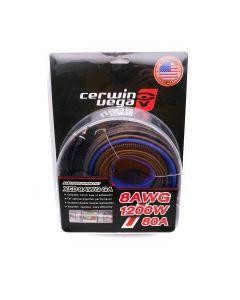 Cerwin Vega XED8AWG Amplifier Wiring Kit